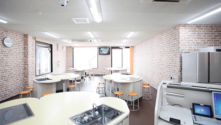 食育を実践できる食育推進調理実習室